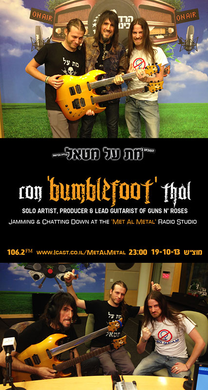 Episode 254 – BUMBLEFOOT In The Studio!